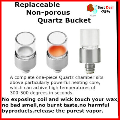 Original Longmada Wickless Quartz Bucket Coil Heating Core Coil Wax Vape