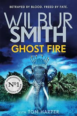 Ghost Fire by Wilbur Smith Hardcover Book Free Shipping!