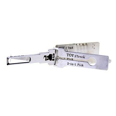 LISHI TOY 2Track 2 in 1 Car Door Tool for Toyota 2 Track//Crown//4700//SUV