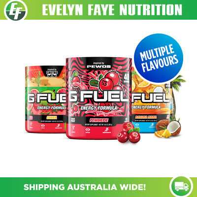 GAMMA LABS G Fuel - 40 Servings (280g) - 15+ Flavours | GFuel + FREE SHIPPING