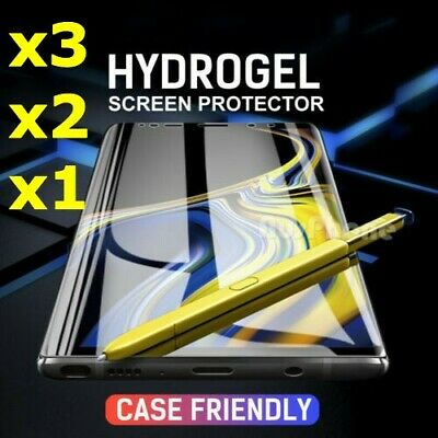 HYDROGEL AQUA FLEX Screen Protector For Samsung Galaxy S10 S9 S8 Plus Note 10 9