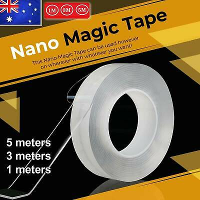 2019 Multi-Function Nano Magic Tape Transparent Reusable Traceless Fixed Double