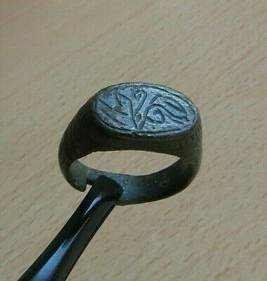 Nice Ancient Roman Legionary Bronze Ring Detector Find