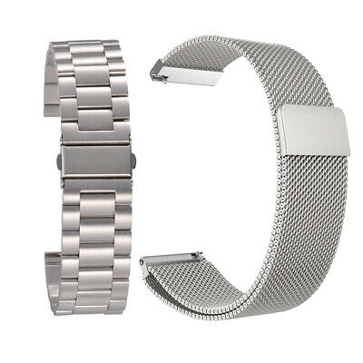 Stainless Steel Band + Milanese Strap for Samsung Gear S3 Frontier/Classic TH886
