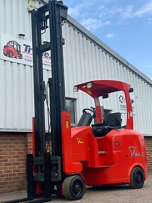 Flexi AC1200 Electric Articulated Forklift. 2T, 7600mm lift, Year 2014