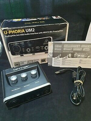 Behringer UM2 U-Phoria Audio Interface (7020609)