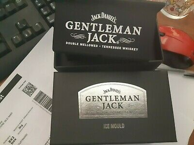jack daniels gentleman jack ice cube mould boxed