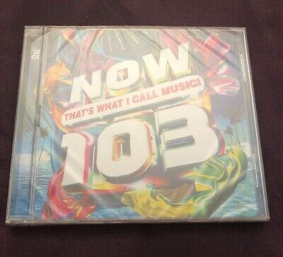 Now That's What I Call Music 103. New & Sealed