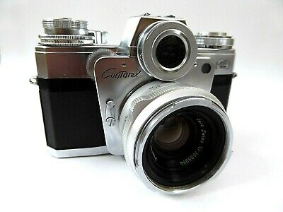 Zeiss Ikon Contarex Bullseye mit-with Planar 2 / 50 mm  (01532)