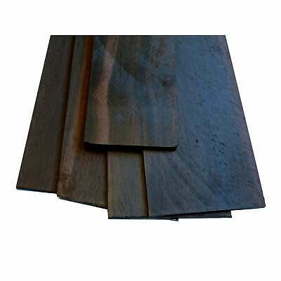 Turners' Mill African Ebony Constructional Veneers - 520x70x2mm, Pack of 4