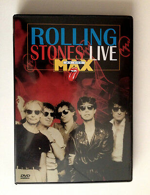 ROLLING STONES  DVD9  Live AT The Max   MAWA 701  Region 2  Audio 5.3 / 2.0  NEW