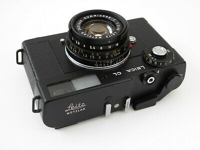 Leica CL mit-with Summicron-C 1:2 / 40 mm    (01546)