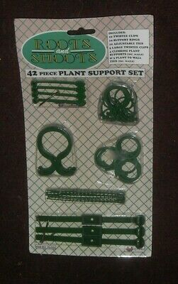 roots and shoots 42 piece  plant support set - pms