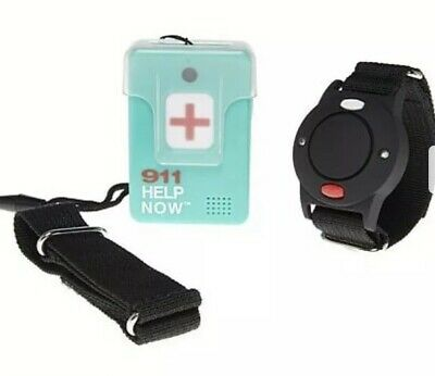 New Aqua 911 Emegency Communicator Pendant Wrist Bundle From HSN NO MONTHLY FEE