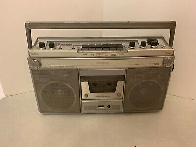 Vintage JCPenny - Large Boombox - AM/FM Stereo Receiver Cassette  Model 681-3887