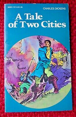 Charles Dickens Tale Of Two Cities Graphic Novel Pocket Classics Comics 1984 Pb