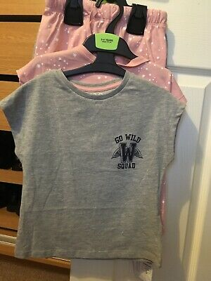 2 Pack M&S Girls Age 3-4 Years Bnwt