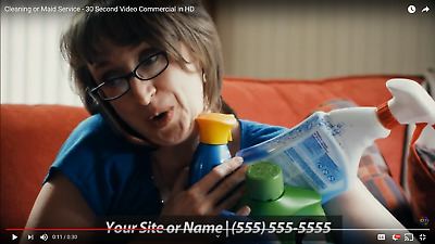 Professional looking Home Cleaning - Maid Service - Housekeeper Commercial in HD