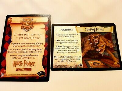 Harry Potter 'Launch Promo' Card *Meeting Fluffy* TCG CCG & Insert