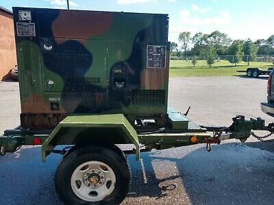 15KW KW MEP-804A 242hrs DIESEL MILITARY EMP PROOF TACTICAL