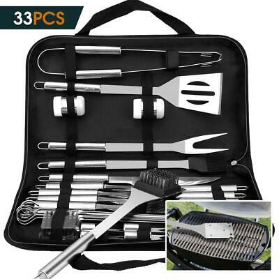 VPCOK 33 in 1 Attrezzi Barbecues Kit Barbecue BBQ Posate Set Barbecue...