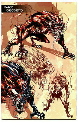 Absolute Carnage #2 Checchetto Variant  Marvel Comics 1St Print 2019 Nm