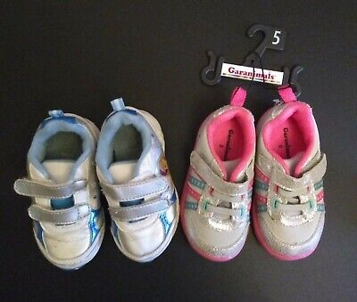 Baby Girl Two Pairs Of Shoes 5c