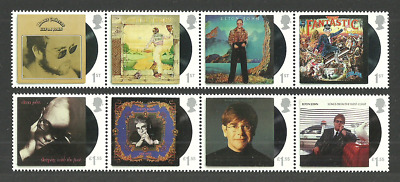 Gb 2019 Music Giants Iii Elton John Pop Rock Music Record Albums Set Mnh