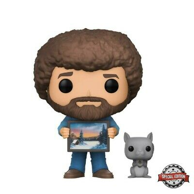 Funko Pop! TV #560 - Joy of Painting - Bob Ross and Pea Pod *Special Edition*