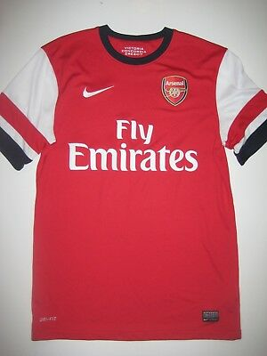 new concept d3ef3 20c43 2012 2013 2014 Arsenal Shirt Nike Home Jersey Kit