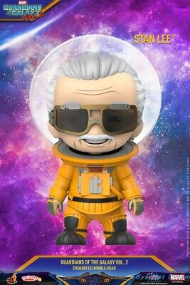 Hot Toys COSB673 Stan Lee Guardians Of the Galaxy Vol.2 COSBABY PVC Figure Model
