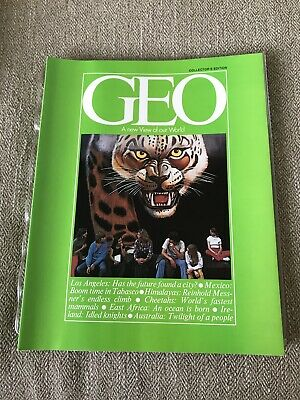GEO Magazine FIRST CHARTER ISSUE, 1979 Collectors Edition LA Great Ads! Ex Cond!