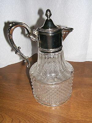Decanter/Pitcher-F.b. Rogers Silver Company-Italy- Near Mint Condition!