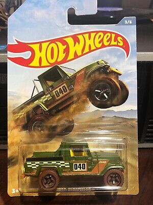 2019 Hot Wheels Jeep Scrambler Off Road Truck Series Rare