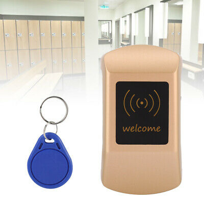 Electronic Cabinet Lock, Metal Digital Touch Keypad Security Cabinet Coded RFID