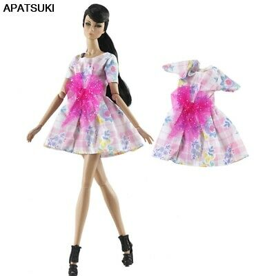 """Colorful Fashion Doll Clothes For 11.5"""" Doll Dress Short Dress Gown Outfits Toy"""