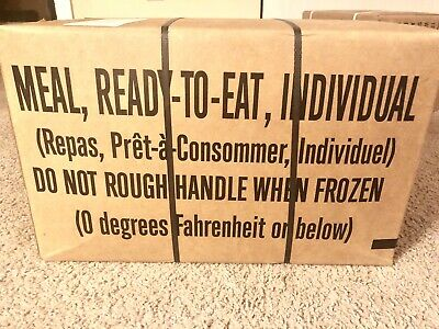 2020 Genuine US Military MRE (Meals Ready-To-Eat) Inspection Date - MRE