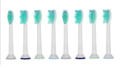 8pcs Replacement Brush Heads Compatible with Philips Sonicare ProResult HX6014