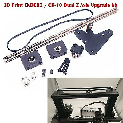 3D Printe ENDER 3 Dual Z Axis Upgrade Kit Single Motor Dual Z Axis Pulley Part