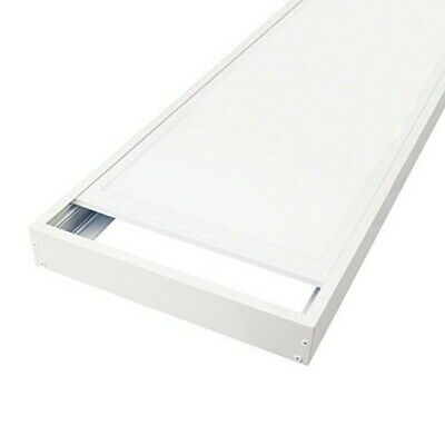 Marco Superficie Panel LED 120x30cm Blanco - Compatible con paneles 120x30cm