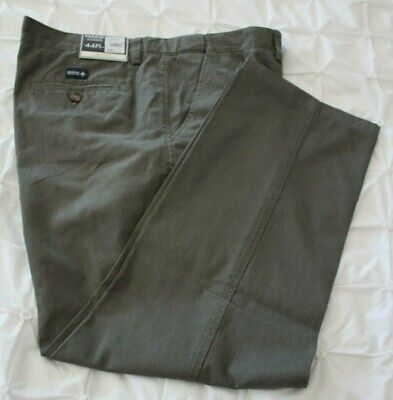Maine New England Grey Micro Dot Tailored Fit Chino Trousers - Size: 44R