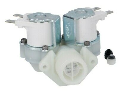 "SOLENOID VALVE RPE 2-WAY 180° inlet 3/4"" two outlets ø10.5mm 220/240V  - 3120276"
