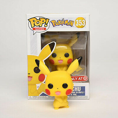 Funko Pop Pokemon Pikachu Target Exclusive Toy Gift Collection Cute Models