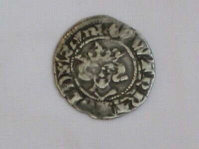 Wonderful coin of King Edward I - Medieval Penny Minted in Canterbury 1274-1282