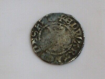 coin of King Edward I - Medieval Penny Minted in Canterbury 1274-1282.