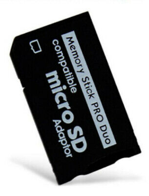 Micro Sd To Memory Stick Pro Duo Adapter For Psp Playstation Portable
