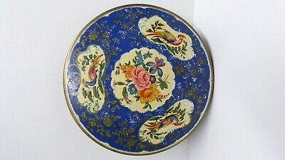 Vintage Stratton Pheasant Make Up Compact Retro Mid Century