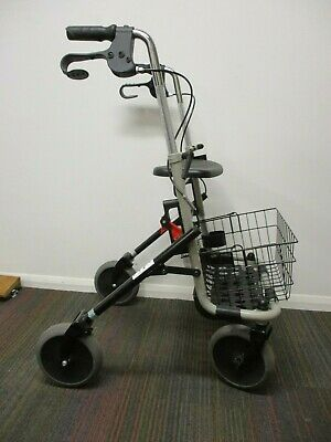 Invacare - Banjo - Walker - P452E/3 - With Basket - Folds Down for Storage