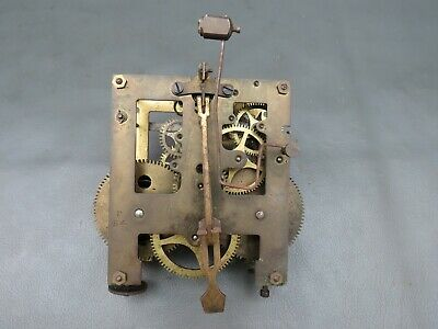 Vintage Gustav Becker Silesia P54 wall clock movement for spares or repair