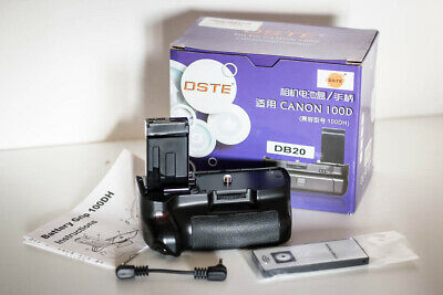DSTE battery grip for Canon 100D